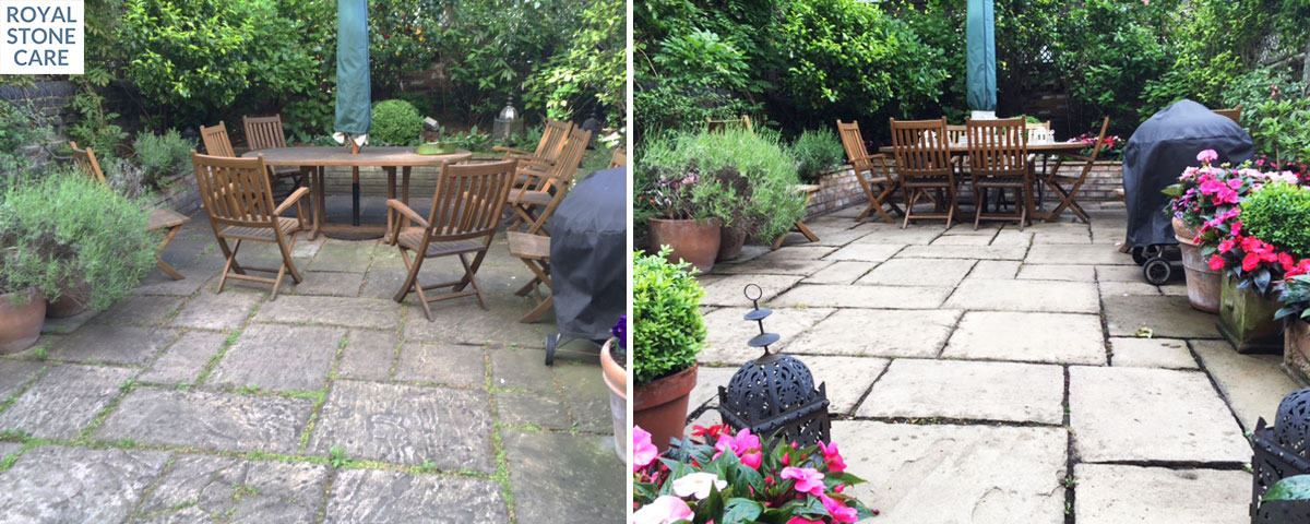 Patio Cleaning Royalstone Care