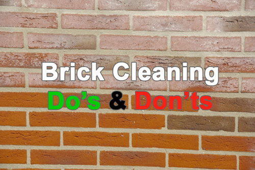 Brick Cleaning Do S And Don Ts Royal Stone Care