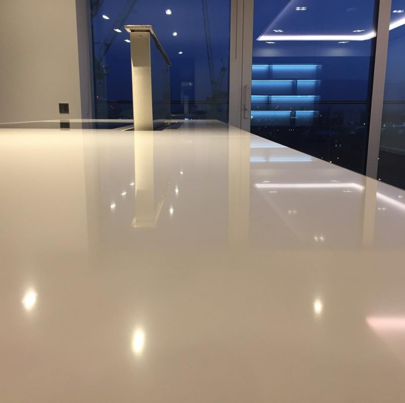Cleaning-granite-marble-worktops