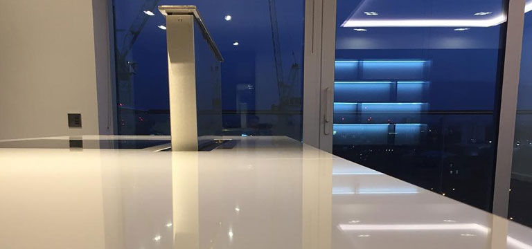 Quartz Countertop Cleaning and Restoration in London