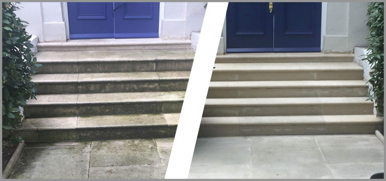 Pressure Washing of Patio and Driveway in London